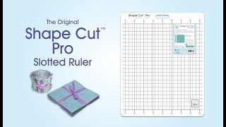 June Tailor Shape Cut Pro Ruler Demonstration Video