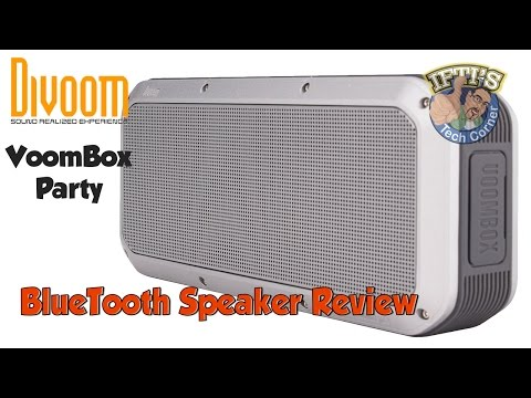 Divoom VoomBox Party - Weatherproof BlueTooth Speaker with SubWoofer! REVIEW