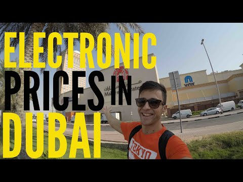 ELECTRONIC PRICES IN DUBAI ! | Apple | Samsung | Sony | Nikon |