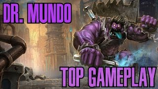 League of Legends - Dr. Mundo Top Gameplay - WHEPA IMORTAL [PT-BR]
