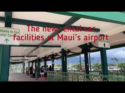 The New Rental Car Facility At Maui Airport