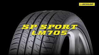 NEW Dunlop Tire SP SPORT LM705 - Comfort while driving - Long version