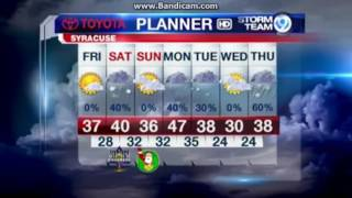 WSYR: NewsChannel 9: 11 At 11pm Close--12/22/16