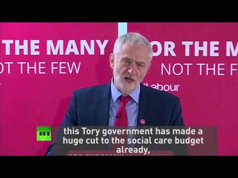 """""""For Tories, Surrey seems to be hardest word"""" - Corbyn"""
