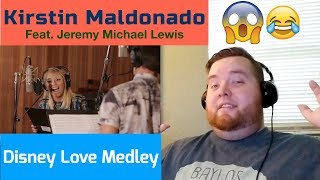 Kirstin Maldonado - Disney Love Medley (feat. Jeremy Michael Lewis and Voctave) - Jerod M Reaction