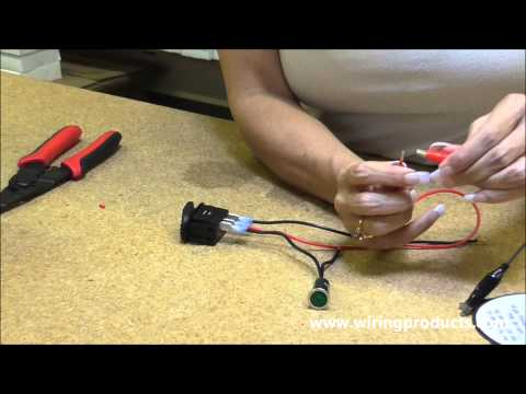 how to wire a led rocker switch 2 49