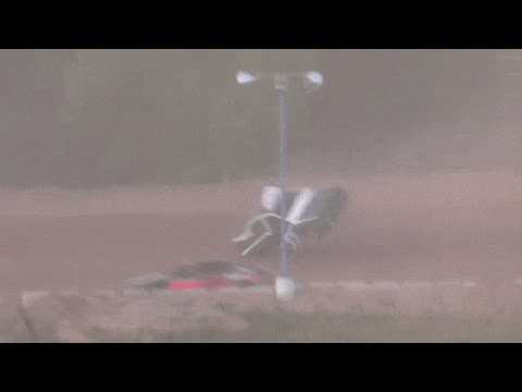 Hartford Speedway Cyber Stock heat flip  6 -3 -16