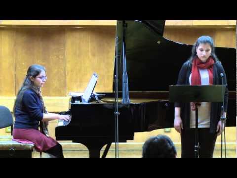 Masterclass with Graham Johnson (Hana Bardos, soprano, Emma Walker, piano)