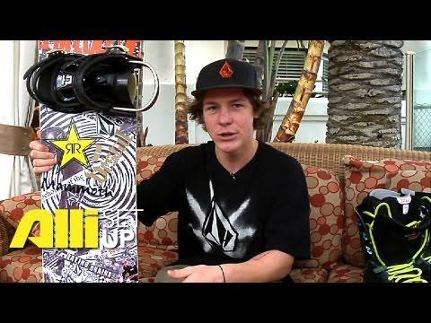 Alli Snowboard - Setup: Tyler Flanagan - Check Out His Gear