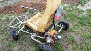 Двигатель от бензопилы для мототехники (доработка)