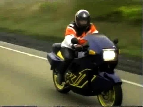 top gear: bmw k1 test in 1989 - youtube