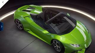 Asphalt 9 - Lamborghini Huracan Evo Spyder Test Drive - Android/iOS/windows