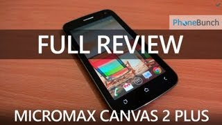 Micromax A110Q Canvas 2 Plus Full Review