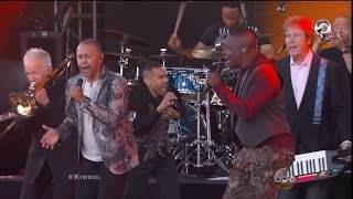 Chicago and Earth, Wind & Fire on Jimmy Kimmel Live!