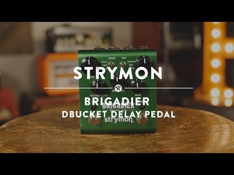 Strymon Brigadier dBucket Delay Pedal | Reverb Demo Video