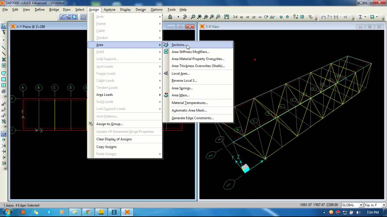 Structural Analysis And Design Of A Reverse Truss Bridge