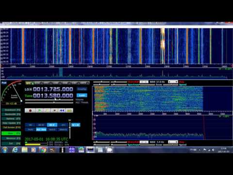 China radio international From beijing 13580 Khz shortwave in Russian