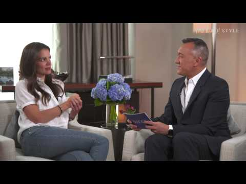 Katie Holmes - Yahoo Style interview