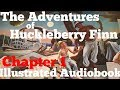 The Adventures of Huckleberry Finn Mark Twain Chapter 1 Audiobook Female Voice Illustrated Text