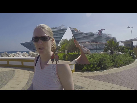 Carnival Vista Cruise - Holiday Vlog 2017 - Day 6 - Curacao