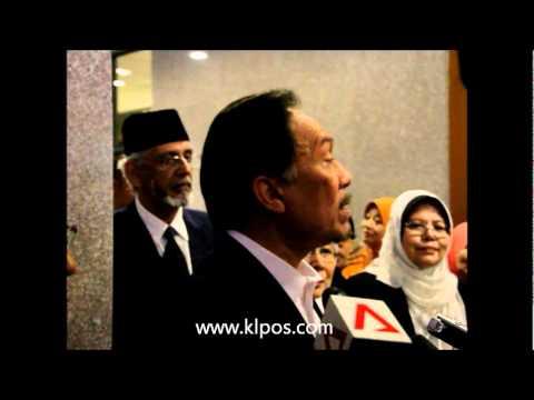 Isu Israel - Anwar Dakwa UMNO Putar Belit. 21/2/2012