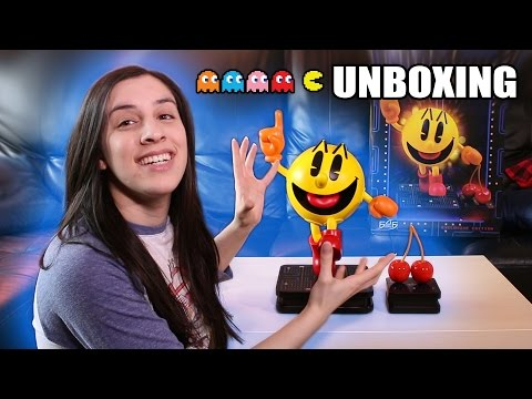 Unboxing GIANT Pac-Man Statue!!!