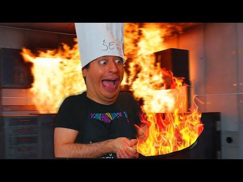 PALAČINKE IZ PAKLA!!! *skoro se otrovao* (kofs kuhinja) - KingsOfFailsShow
