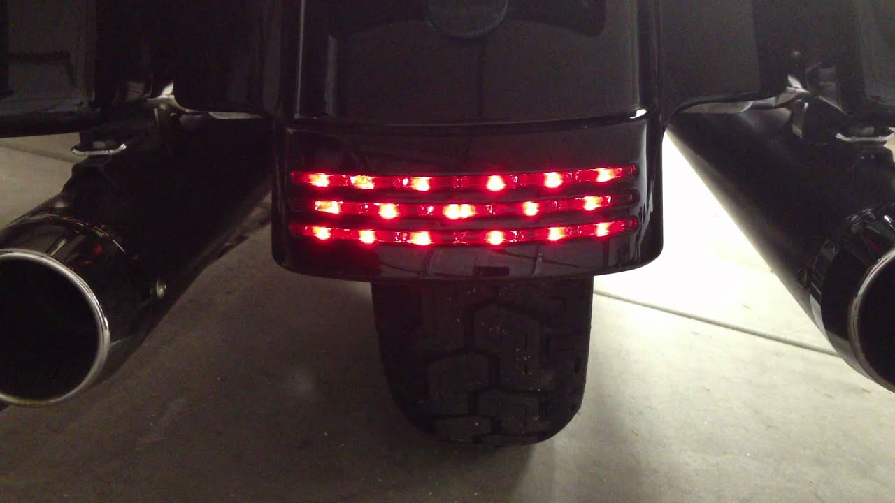 maxresdefault street glide tri bar led tail brake turn signal light taillight  at alyssarenee.co