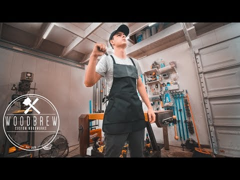 How To Make A Woodworking Apron   Minimal Tools Project