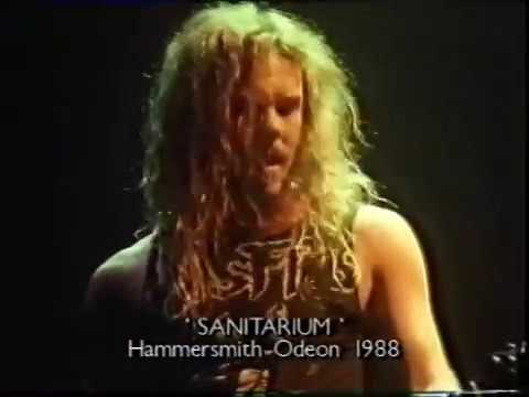Metallica - Live at Hammersmith Odeon, London, England (1988) [TV Broadcast]