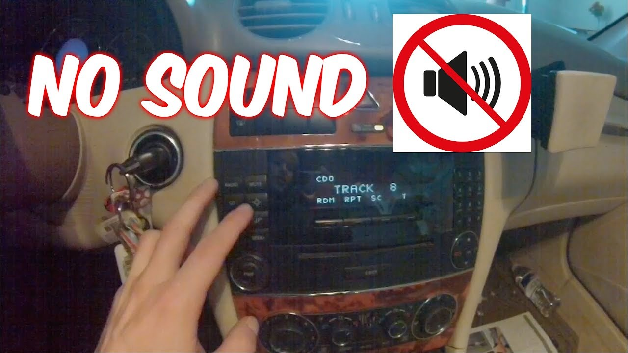Mercedes Benz Car Speakers Not Working No Audio Easy Fix