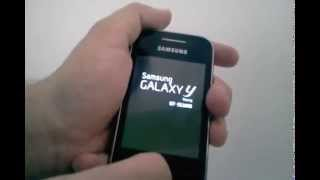 Galaxy Y GT-S5360B: Problema com tecla Power