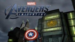 Avengers Initiative Walkthrough [Captain America] [PART 1] [HD] [Gameplay]