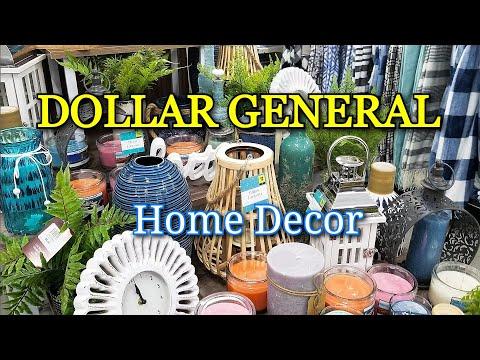 Dollar General Home Decor Summer 2020. #DOLLARGENERAL