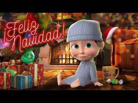 Masha y el Oso -  Navidad Con Masha y el Oso  ¡Feliz Año Nuevo y Feliz Navidad!