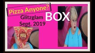Anyone Hungry for Pizza? Glitzglam Box Un-Boxing Sept. 2019