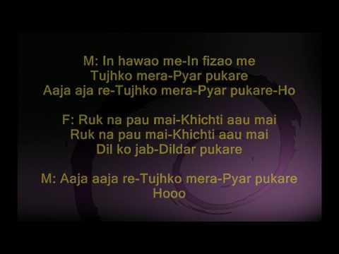 In Hawaon me - Gumrah - Full Karaoke
