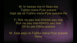 In Hawaon me - Gumrah - Full Karaoke