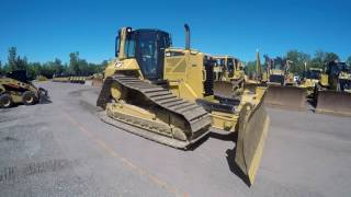 2014 cat d6n track type tractor