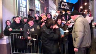 Al Pacino signing autographs after Glengarry Glen Ross 12-30-2012