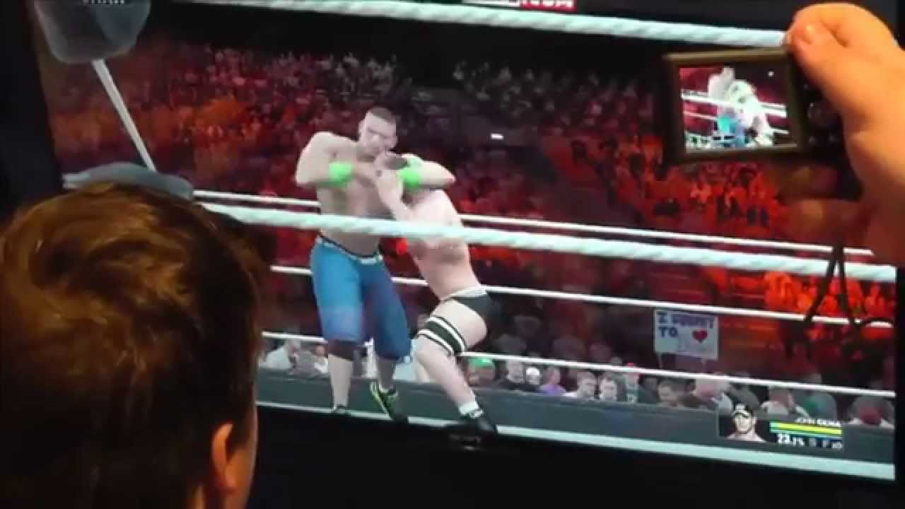 WWE 2K15 Gameplay #4: John Cena - 62.3KB