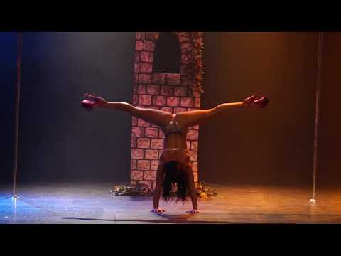 Disney Princesses: Michelle Shimmy At Miss Pole Dance Australia