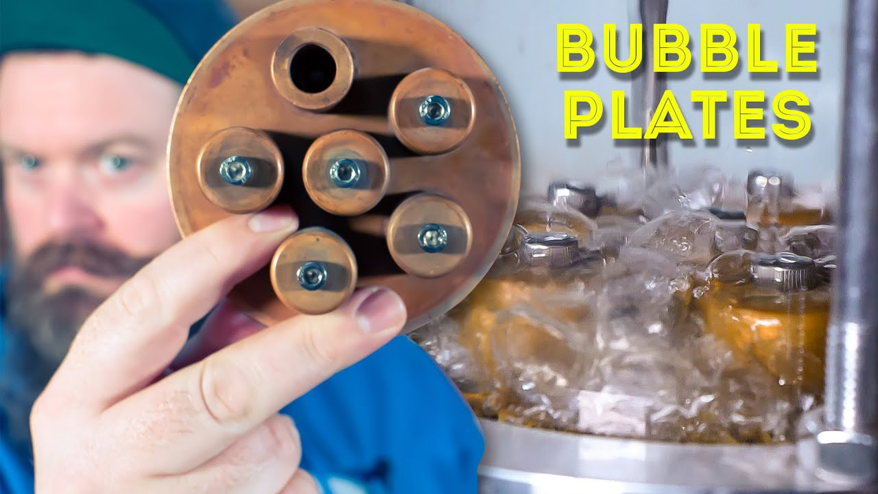 How To Use Bubble Plates In A Still (& How They Work)