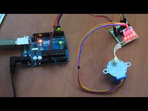Arduino And Step Motor Controller ULN2003