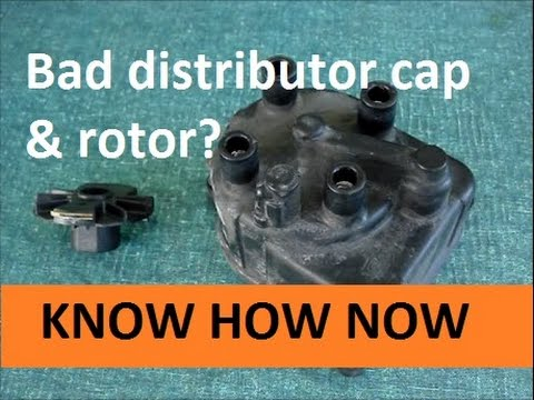 Signs of Worn Distributor Cap and Rotor