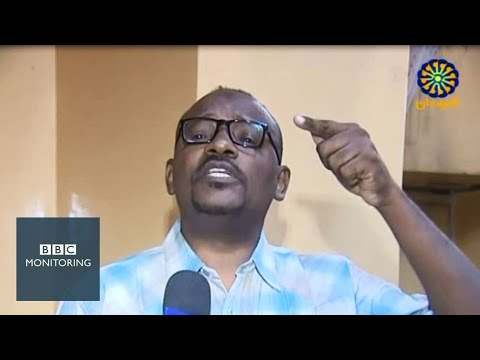 Sudan protests: Activist slams TV channel on air