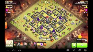 Clash of clan Tie Destruction