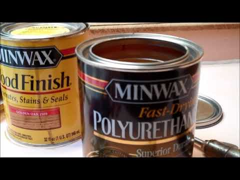 How to Stain & Varnish Woodwork