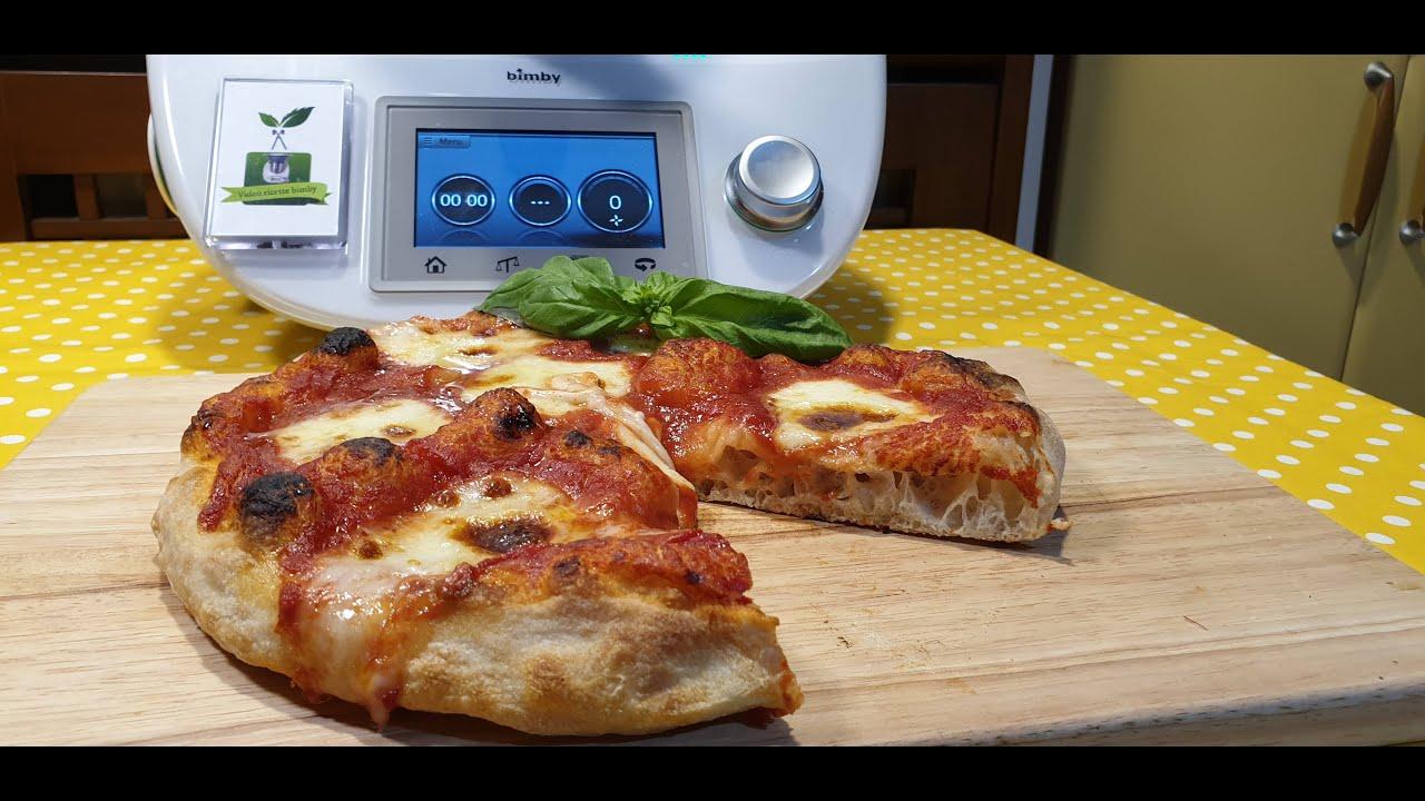 Ricetta Impasto Pizza Bimby Tm21.Pizza Tipo Sorbillo Per Bimby Tm6 Tm5 Tm31 Tm21 Youtube