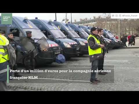 Les gilets jaunes secouent l'économie française